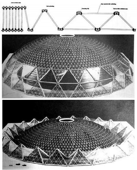پاورپوینت بررسی شبکه های فضایی قابل گسترش (تاشونده و جمع شونده)