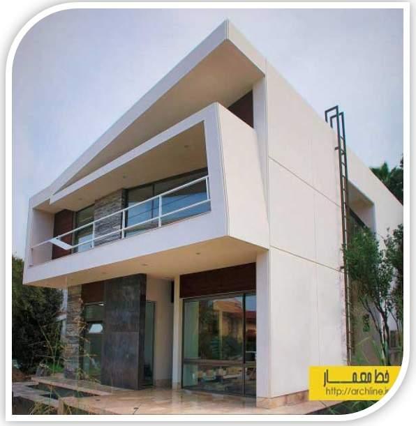 پاورپوینت بررسی معماری و طراحی داخلی ویلای 599 خانه دریا(نمونه مشابه مسکونی)
