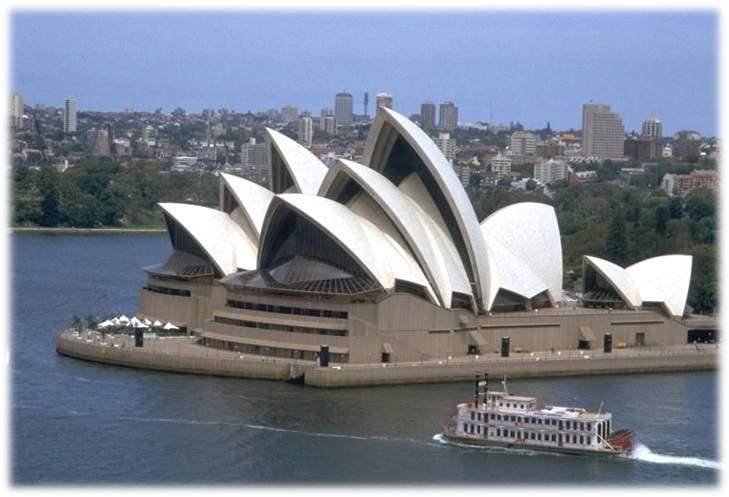 دانلود پاورپوینت بررسی خانه اپرای سیدنی
