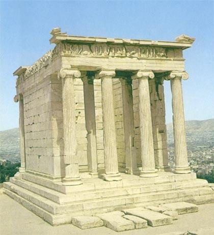 دانلود پاورپوینت بررسی سبک معماری یونان